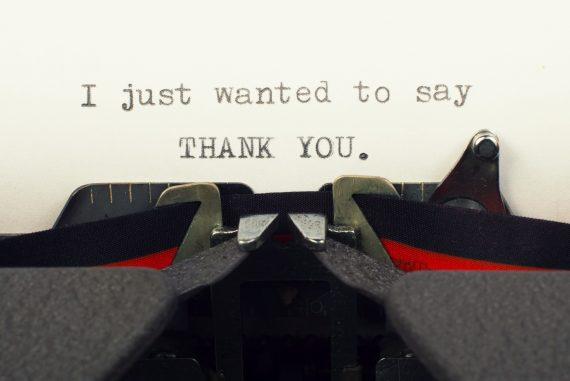 Die 5 schönsten Arten Danke zu sagen
