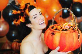 Halloween-Sextoys als Deko