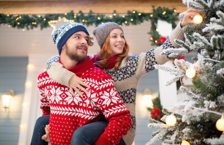 Weihnachten mit dem Partner - Wo feiert man?