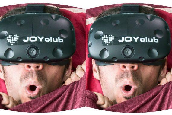 VR Porn Unter die Bettdecke zu flüchten, ist keine Option bei VR Porn.