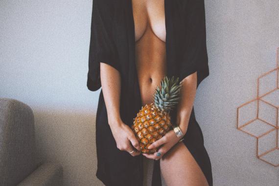 Über die Probleme mit großen Brüsten.