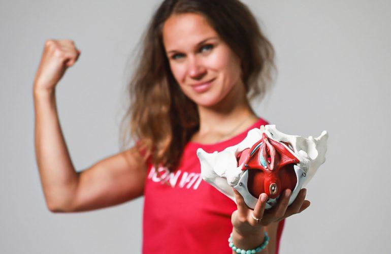 Intimfitness-Trainerin Anastasia Romanova